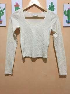 Abercrombie and fitch crop tee