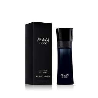 🚚 Armani Code by Giorgio Armani 75ml