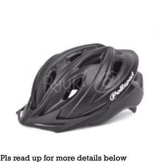 (c/w Free Gift) Polisport PURUS Bicycle Cycling Helmet (L Size)
