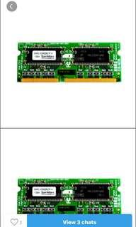 🚚 Used laptop ram