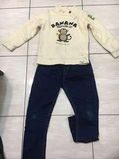 🚚 韓制套衣11。褲15
