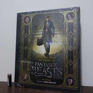 (60% OFF) Harry Potter Inside The Making of The Fantastic Beasts Book