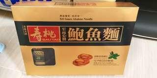 壽桃牌鮑魚麵 12個裝連XO醬