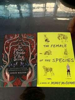 The female of the species and the price guide to the occult