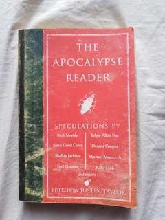 [Anthology] THE APOCALYPSE READER edited by Justin Taylor