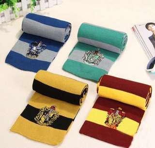 Harry Potter gryffindor slytherin scarf shawl