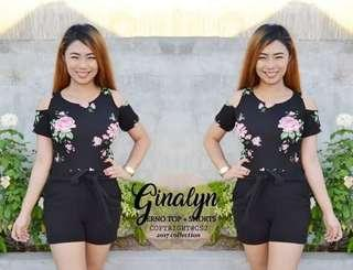 Ginalyn terno top short