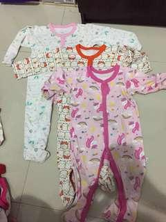 Sleepsuits libby 9-12 bln