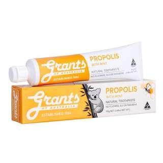 🚚 澳洲🇦🇺 Grants 天然蜂膠薄荷 牙膏 Propolis Toothpaste