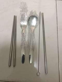 🚚 Brand new personal cutlery set
