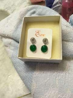 🚚 Long Life Jade Earrings
