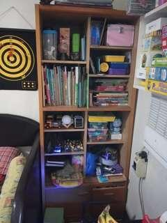 Bookshelves or display cabinet