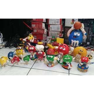M&m's Collectible Toy Figures Set