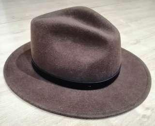 Cowboy Hat / Brixton Messer Fedora - Brown (Medium)
