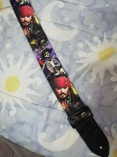 Guitar Strap Pirates of Caribbean