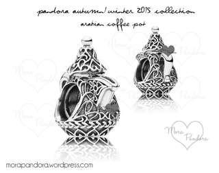 Pandora limited edition Arabian coffee pot