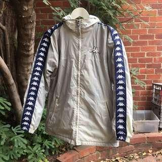 Kappa jacket navy and grey