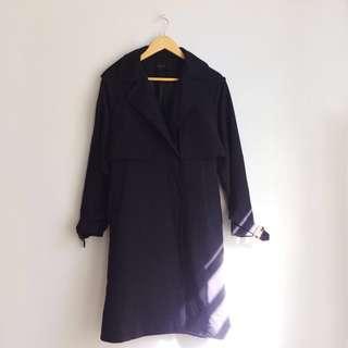 MORIMORI Dark Blue Trenchcoat