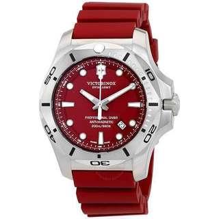 🔥Victorinox INOX Professional Diver Red 45mm