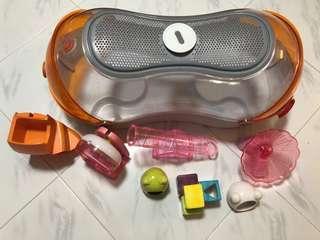 Hamster HABITRAIL OVO Loft set with accessories *bundle set*