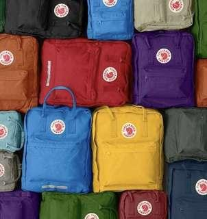 🚚 Kanken Bagpack (Authentic & comes in multiple colours)