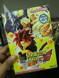 Dragon Ball GT Anime Box Set.