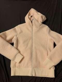 Uniqlo Fluffy Fleece Hooded Zip-Up Jacket