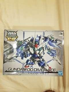 <Clearances> SD Gundam Cross Sihouette 00 Diver