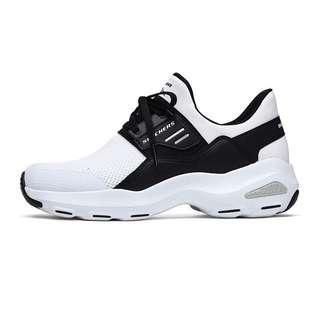 斯凱奇 女子春夏款黑白閃鑽熊貓鞋 Skechers