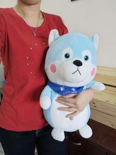 (40cm) Super Soft Hasky 肥仔狗系列哈士奇 超柔软