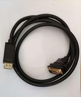 UGREEN displayport DP to DVI cable 1.5m