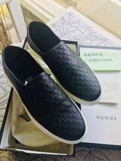 Gucci MicroGuccissima Slip on sneakers