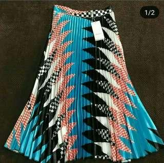 Gucci Ins Pleated Skirt