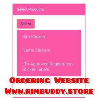 Please Use Rim Buddy Ordering Website. Products available for DYU, Fiido, AM, Tempo, Speedway, Inokim, Dualtron, Ultron, Xiaomi Scooters
