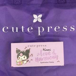 全場最平包平郵 Cutepress Kuromi 眼影 cute press 泰國彩妝