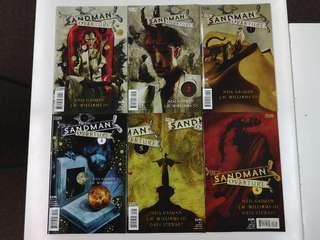 Sandman Overture (2013) Comics Set