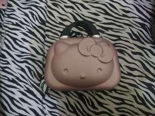 Rosegold Hello Kitty Make Up Bag