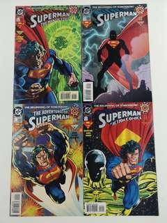 Superman Zero Hour (1994 DC) Comics Set