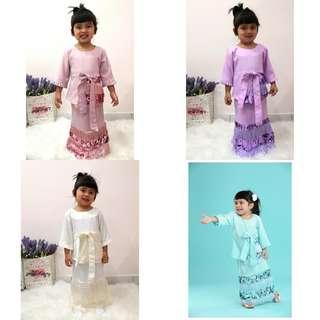🚚 TAYRA KURUNG baju korong kurong korung family top blouse peplum tunic tunik
