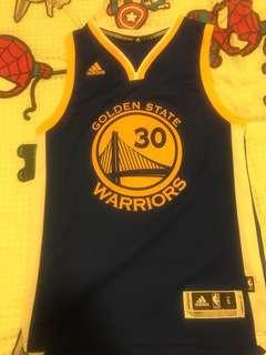 Authentic NBA Adidas Swingman, GSW Steph Curry Size S