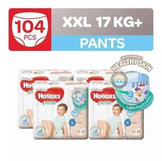 Huggies Platinum Pants in XXL 26 x4
