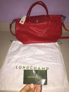 Longchamp Neo Medium Red Original 100%
