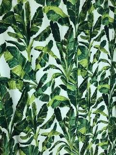Jungle shower curtain (nearly new)