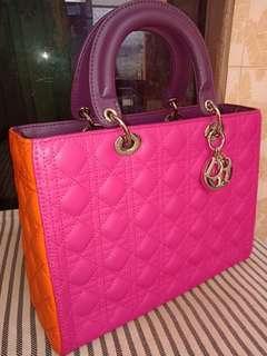 Lady Dior 3 Tone Color