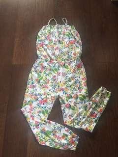 Zara Flower jumpsuit