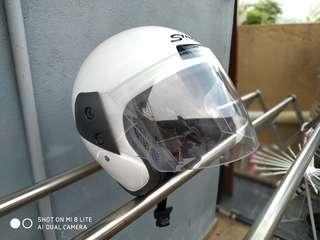 Helmet fullface swan