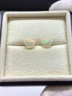 🚚 Ethiopian Opal Loose Stones Pair