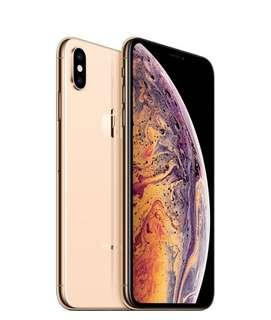 🚚 Brand new iPhone XS Max 512 Starhub set gold