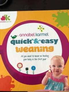 🚚 Annabel Karmel quick and easy weaning recipes