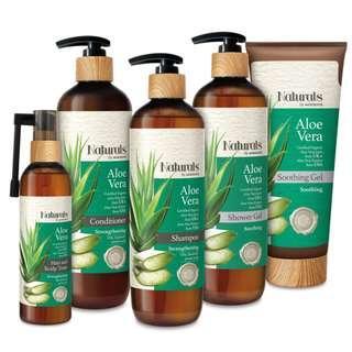 Naturals by Watsons Aloe Vera Body Care Gift Set  #MakeSpaceForLove